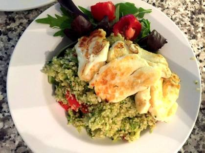 halloumi with couscous final