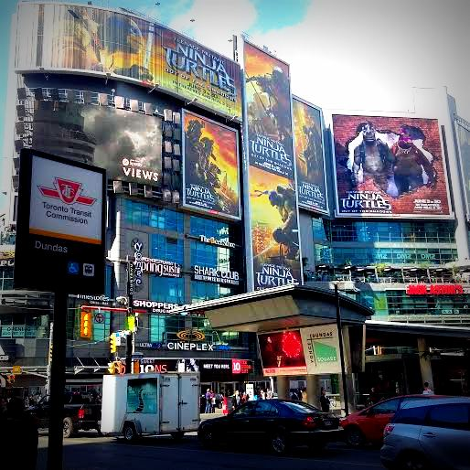 dundas square blog