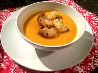sweet potato and chilli soup blog