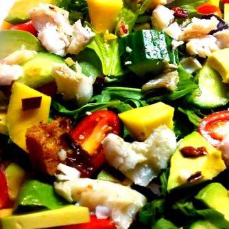 mango salad blog