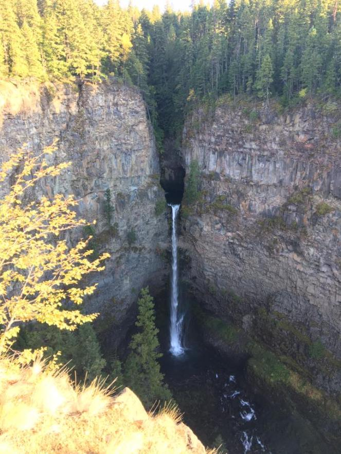 Wells Grey waterfall